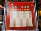 南鯤鯓代天府使用大型看板,解釋歷年來抽出的國運籤。劉榮輝攝